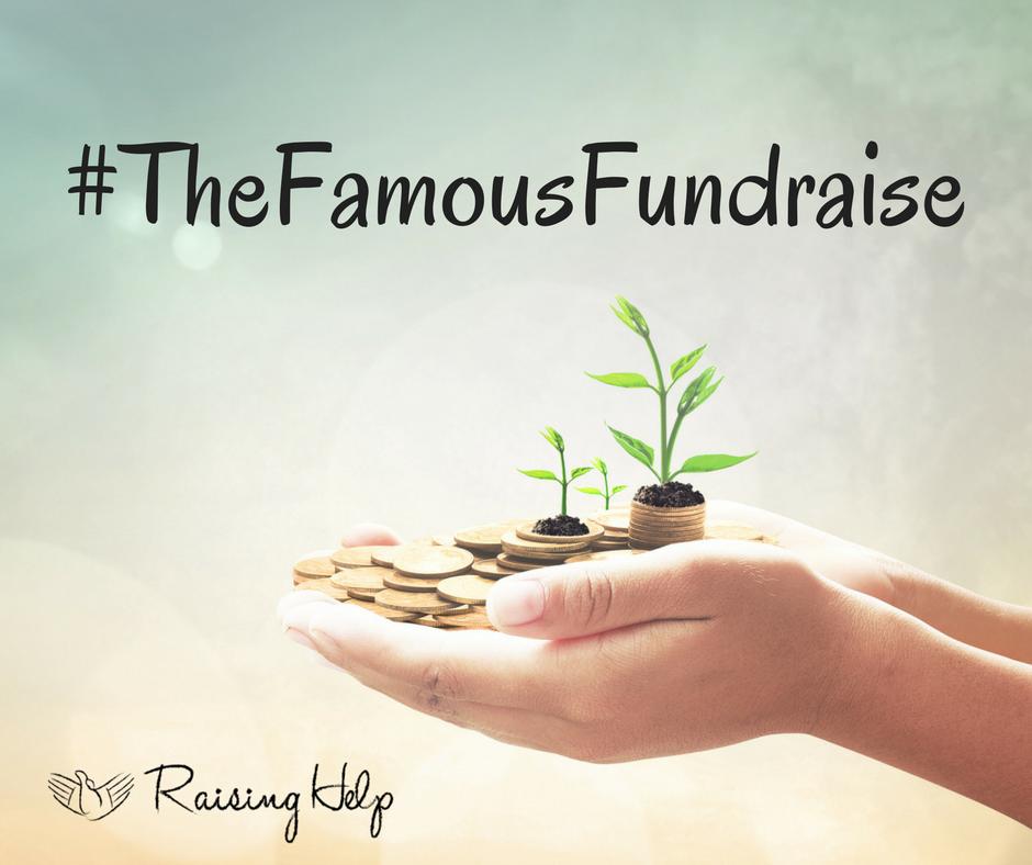 #TheFamousFundraise